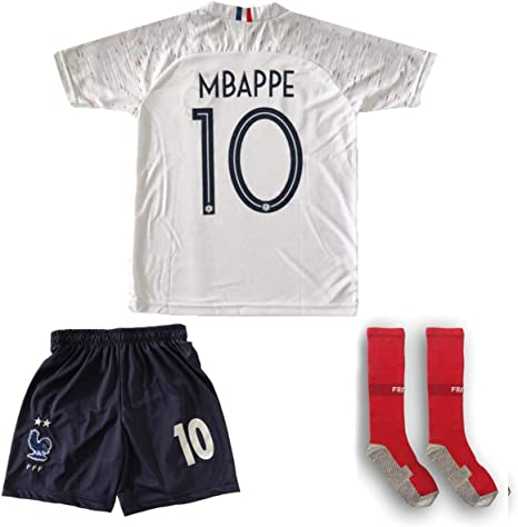 Socks 18//19 Football Soccer Full Kit Kids Youth Sports Team Jerseys Short Suit