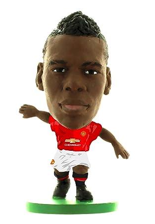 big sale 9b7f0 4874f SoccerStarz SOC1121 Man Utd Paul Pogba Home Kit