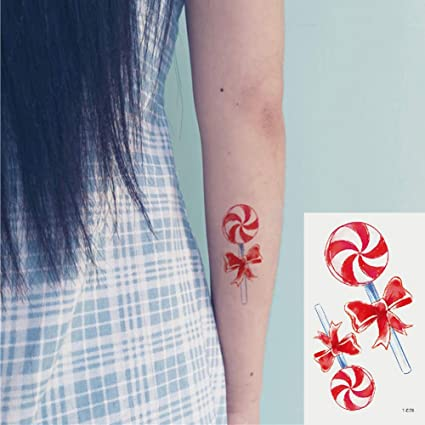 Oottati 2 Hojas Pequeño Lindo Tatuaje Temporal Tattoo ...