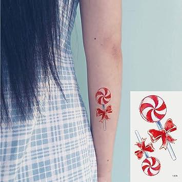 Oottati 2 Hojas Pequeño Lindo Tatuaje Temporal Tattoo Chupete ...