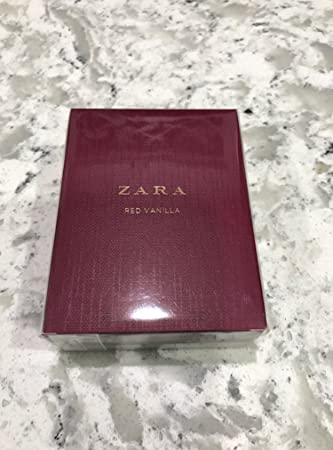 Amazoncom Zara Woman Eau De Toilette Red Vanilla 30ml102 Fl Oz