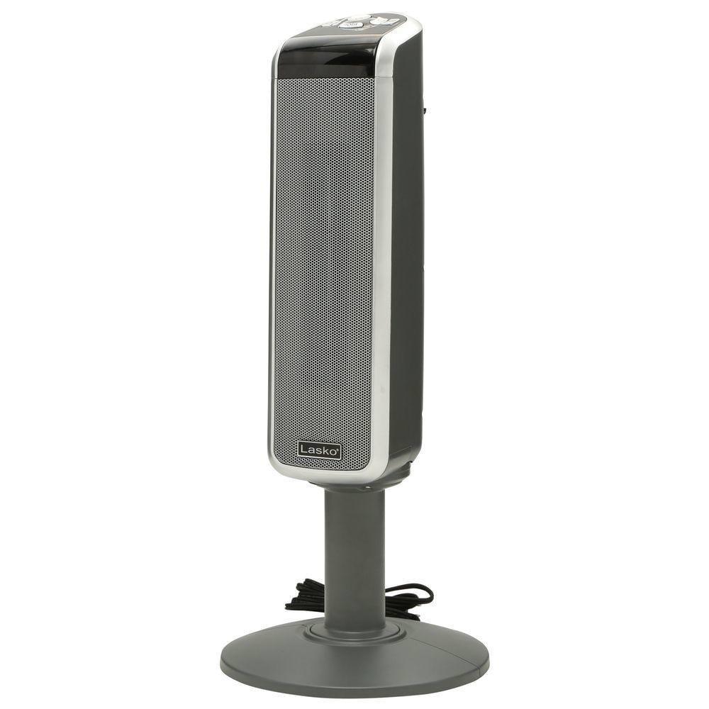 Lasko 5397 Ceramic Pedestal Heater with Remote Control