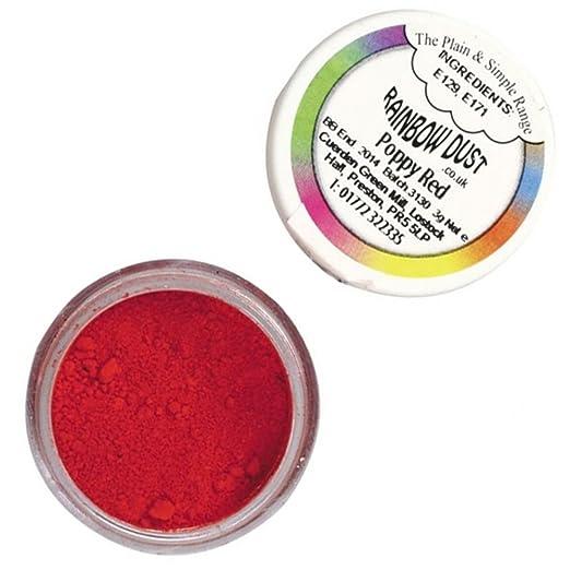 2 opinioni per Colorante alimentare in polvere Rainbow Dust Poppy Red