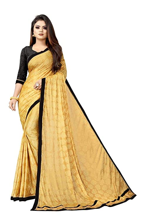 Shree mahi Creation Latest Disigner Lycra Saree