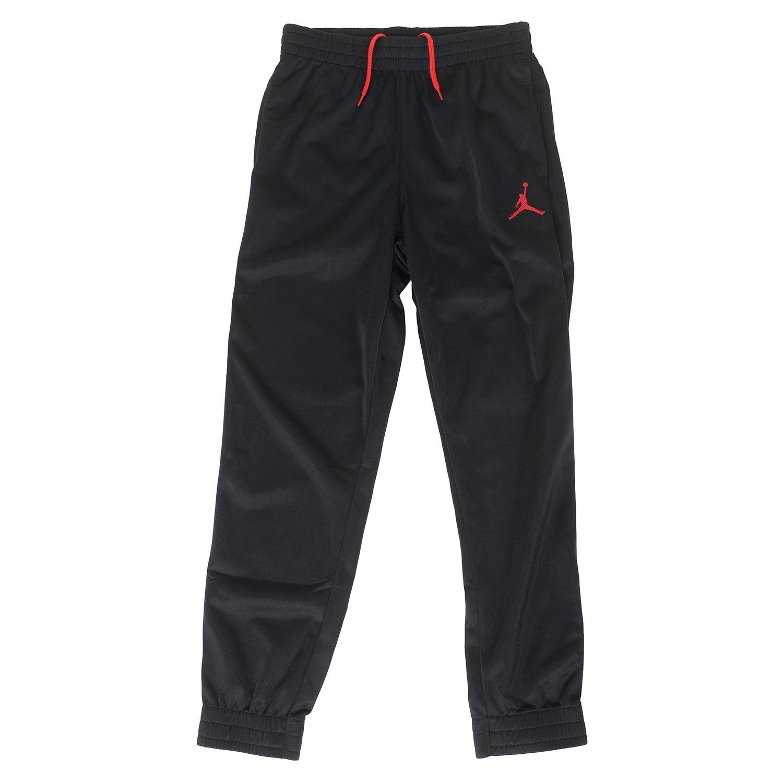 Jordan Big Boys' Jumpman Basketball Pants (XL (13-15YRS), Black/Red) by NIKE