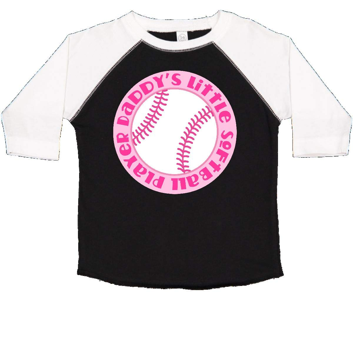 inktastic Daddys Little Softball Player Toddler T-Shirt