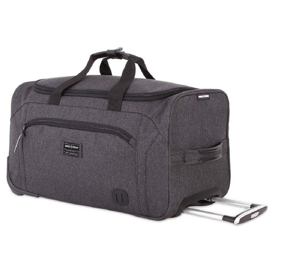 4cc63943c081 SWISSGEAR Getaway Weekend Wheeled 19-inch Duffel Bag   Rolling ...