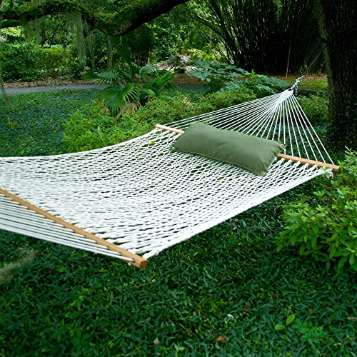 Pawleys Island Deluxe Polyester Rope Hammock - Deluxe Polyester Rope Hammock