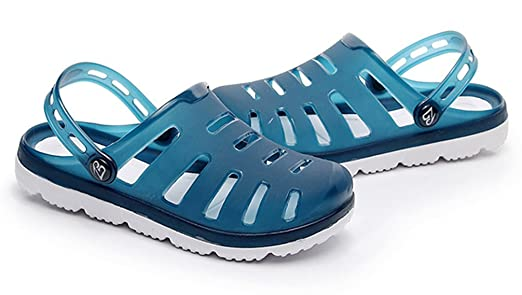 20637f311e69f5 Amazon.com  FEMAROLY Hole Sandals Men s Beach Shoes Summer Leisure Non-slip Slippers  Sandals  Clothing