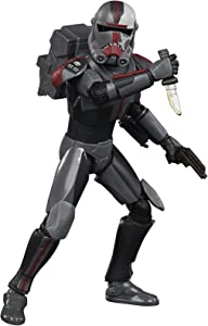 STAR WARS The Black Series Bad Batch Hunter 6-Inch-Scale The Clone Wars Collectible Action Figure, Toys for Kids Ages 4 and Up