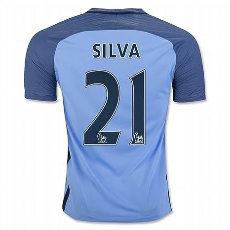 Seconda Maglia Manchester City David Silva