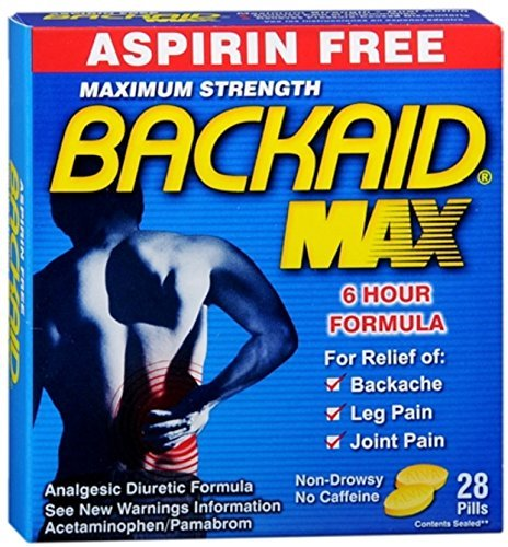 BACKAID Pills 28 Tablets by Backaid