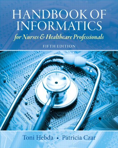 Handbook Of Informatics For Nurses...