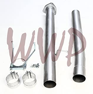 Performance Racing Race 5 Turbo Back FIT BOTH MODELS Downpipe Down Pipe DPF Exhaust System For 13-18 Dodge Ram 2500 3500 Cummins 6.7L Turbo Diesel Pickup Truck COIL /& LEAF SPRING SUSPENSION