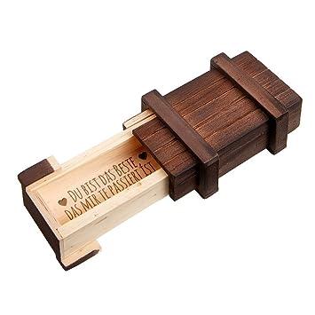 Magische Geschenkbox Schmuckkastchen Mit Gravur Du Bist Das
