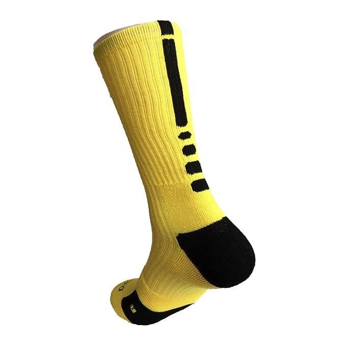 ZENUTA Nuevo Estilo Calcetín de Bicicletas Al Aire Libre Transpirable calcetines de baloncesto Fútbol Caminar Correr