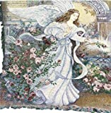 Manual Inspirational Collection 50 x 60-Inch Tapestry Throw, Angel of Love