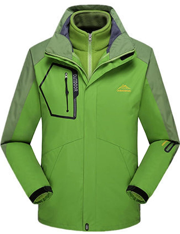Menschwear OUTERWEAR メンズ B077C5PWD2  Light-green 1201 3L