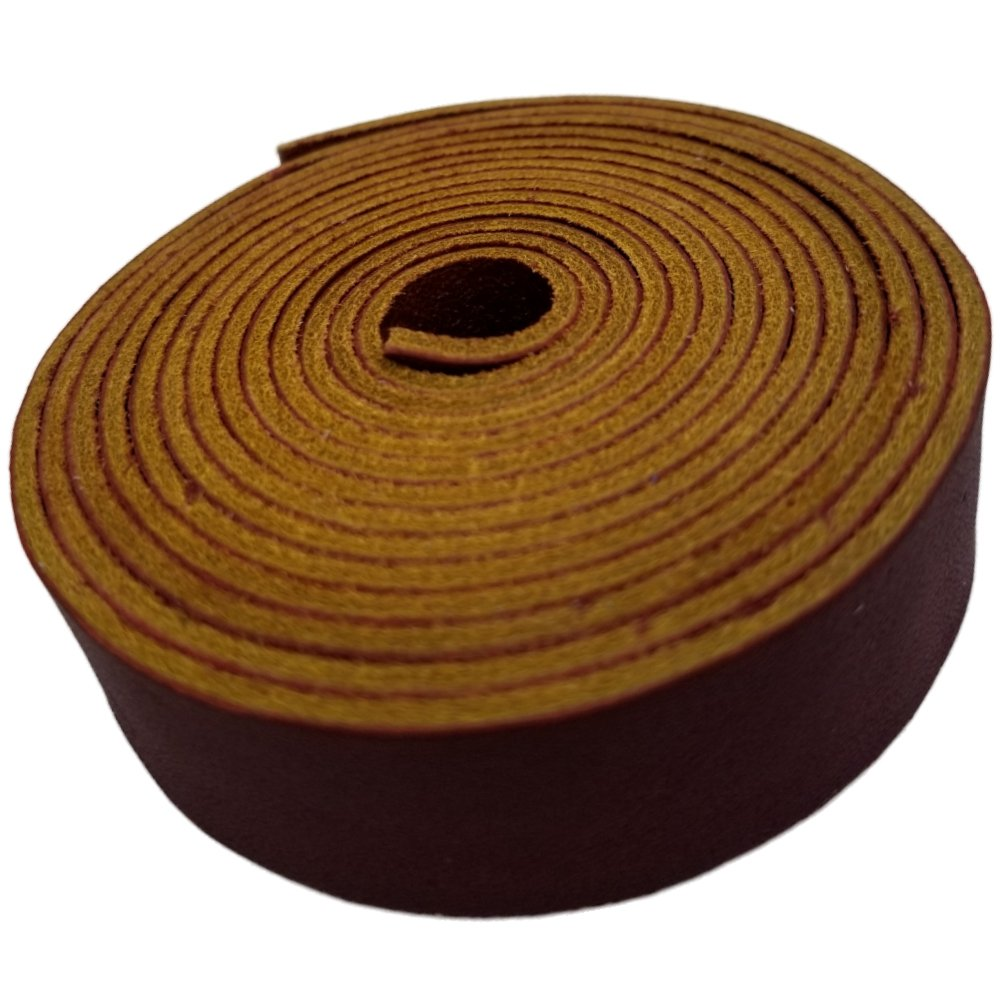3//4Wide and 72 Long Leather Straps by TOFL Crafts Accenting Binding Leather Strips You Can Use 1//6 Thick 4 oz Beige