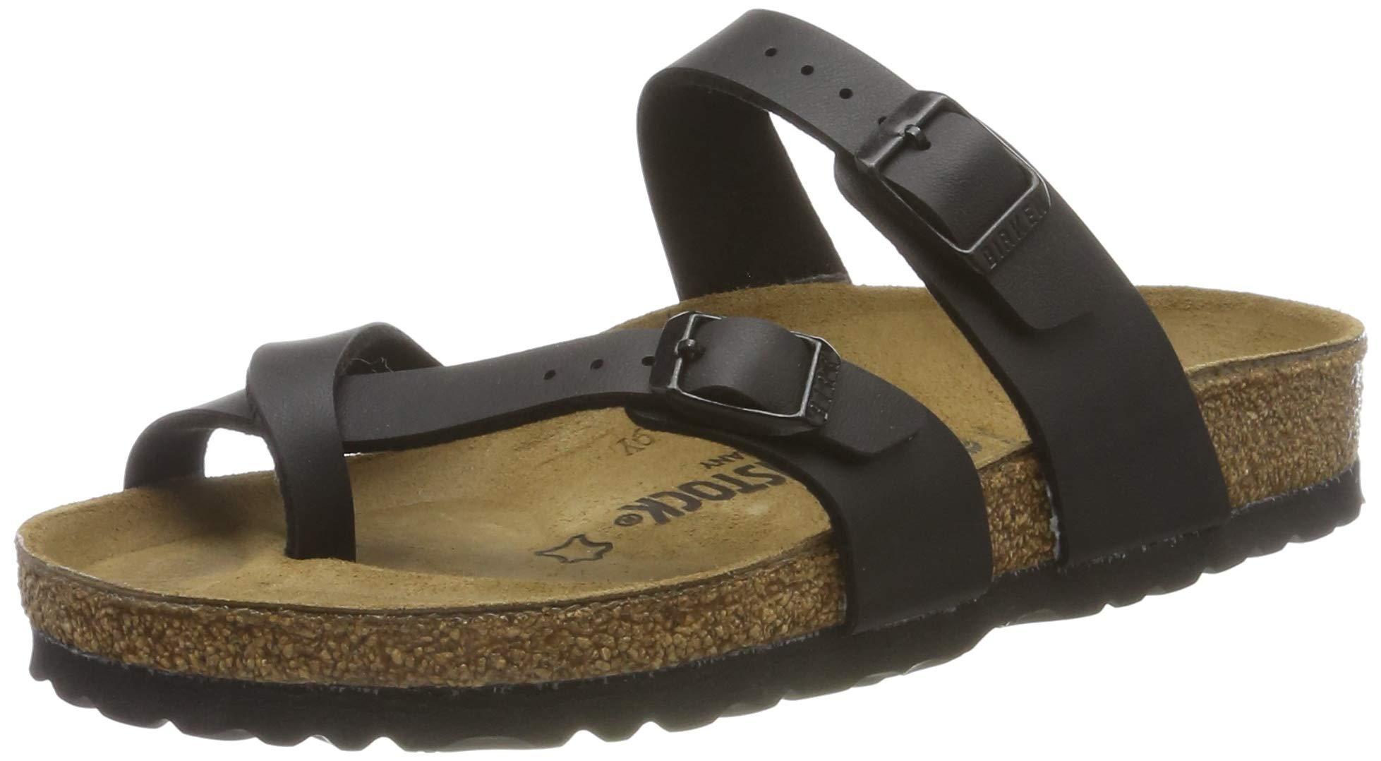 Birkenstock Women's Mayari Sandal,Black Birko-flor,40 EU/9-9.5 M US by Birkenstock