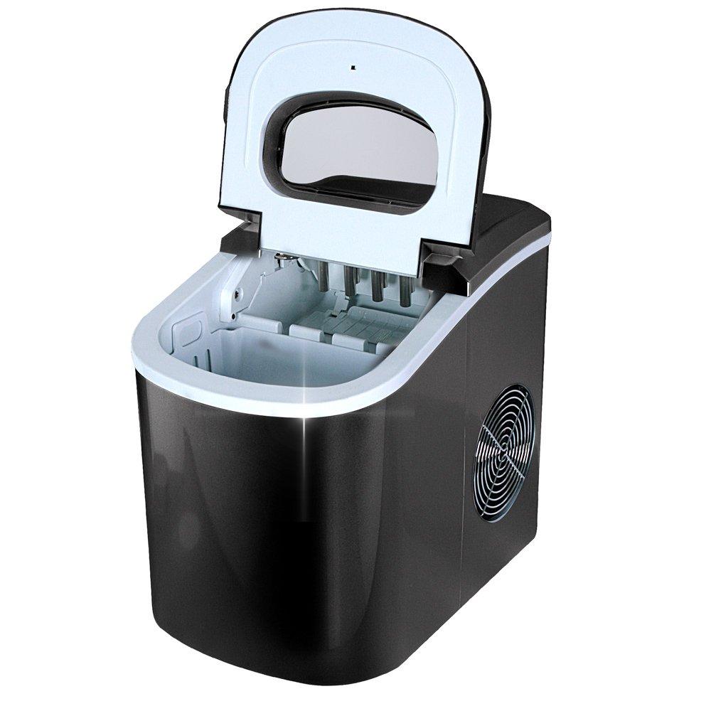 Jago - EWZB02schwarz - Máquina de hielo - Negro - 220-240V, 50Hz - Color a elegir: Amazon.es: Hogar