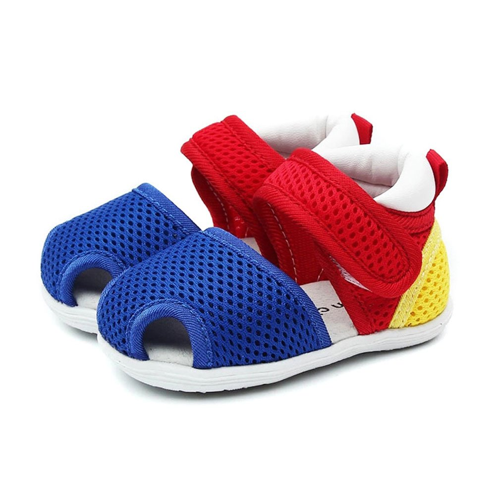 Breathable Mesh Soft Rubber Sole Summer Sneaker Toddler Beach Shoes for Baby Girls and Boys