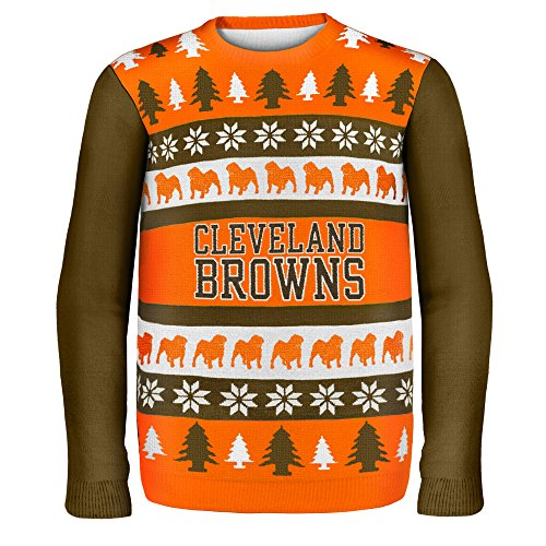 pretty nice fb5ab ed280 Cleveland Browns Ugly Christmas Sweaters