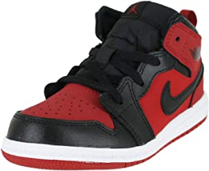 NIKE Jordan 1 MID (TD) Baby-Boys Fashion-Sneakers 640735-610_10C