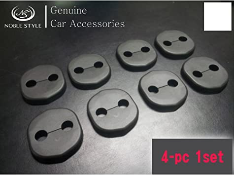 Door Striker Cover 4P 1Set For 11 12 Kia Picanto All New Morning