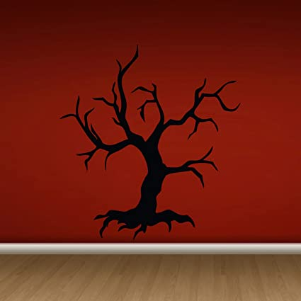 amazon com 43sabrinagill scary halloween tree wall vinyl decal