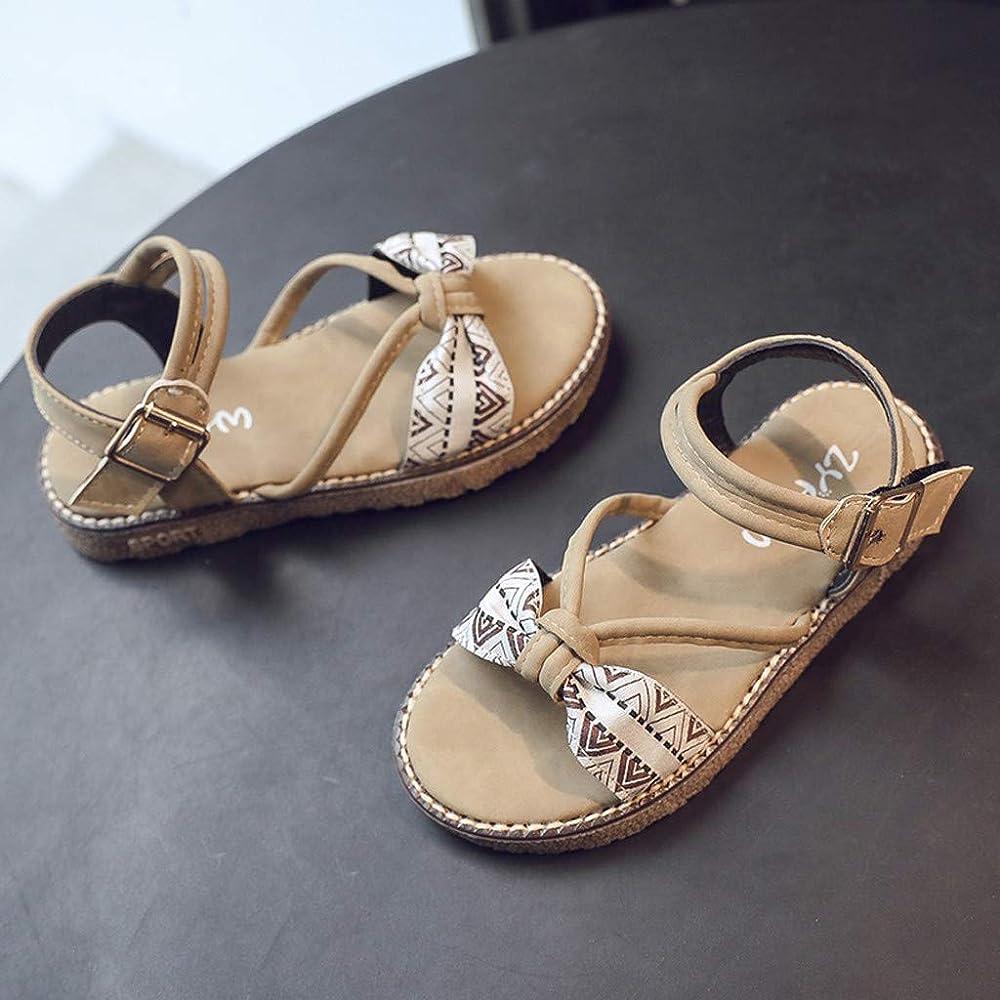 Hokoaidel Sandalias para Niñas Playa Verano 2019 Zapatos Princesa ...