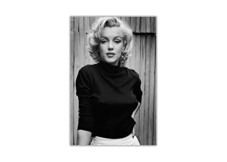 Black and white marilyn monroe fashion shoot poster prints wall decoration art pictures size a3