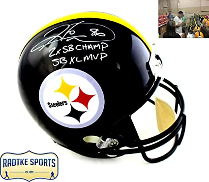 c95b93e898f Image Unavailable. Image not available for. Color  Hines Ward Autographed Signed  Pittsburgh Steelers ...