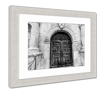 Amazon.com: Ashley Framed Prints The Alamo in San Antonio Texas ...