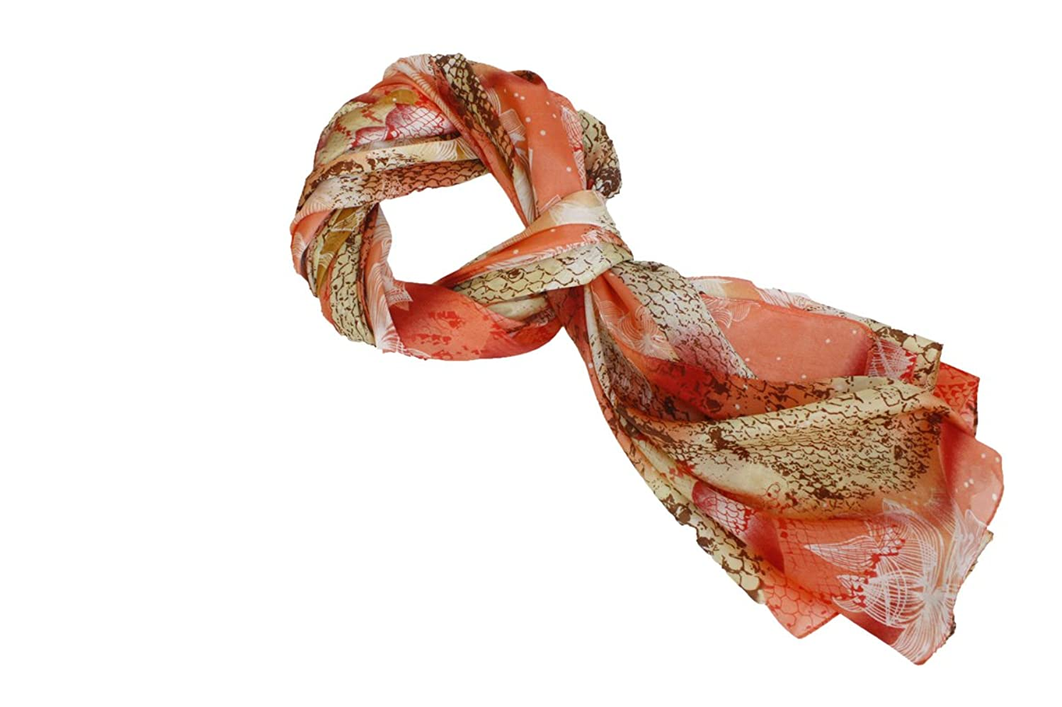 4square One Size Women Peachy Fashion Scarf