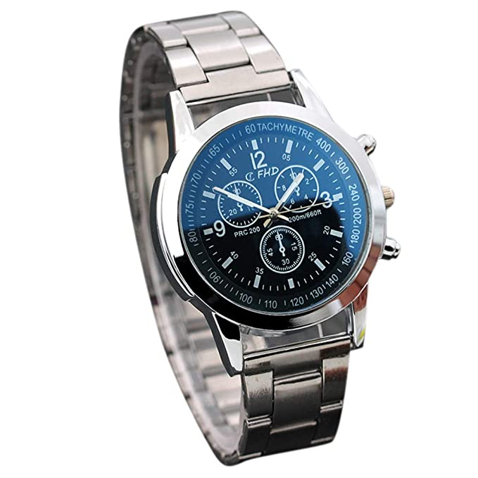 d074dd2df2b0 OSYARD Herren Uhren, Herren Analoge Quarz Edelstahl Sport Armbanduhr,Herrenuhren  Casual Business Edelstahl Band Uhr,Männer Mode Luxus Elegant Design ...
