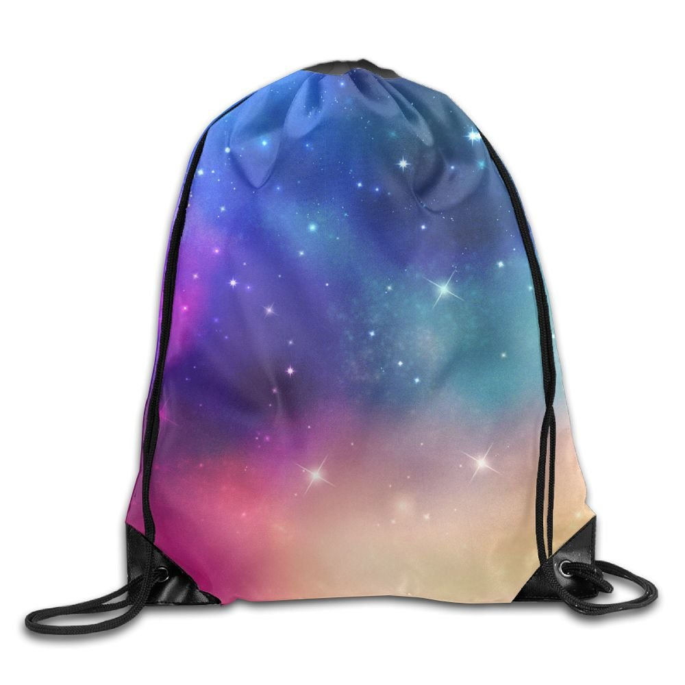 Sunmoonet Drawstring Bags Gym Bag Travel Backpack, Sky Spot Glare, Best Gym  Bags For f9e75d4316
