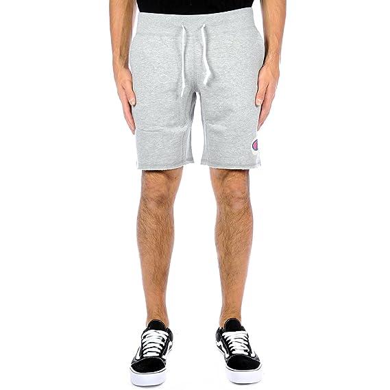 Champion Bermuda Men Short Jersey, Art. 211526em006, Grey, Spring Summer  Collection 2018 249e3b16f32b
