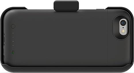 Mophie NA3100 - Pinza de cinturón para Apple iPhone 6/6S, Color Negro: Amazon.es: Electrónica