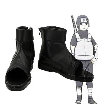 Amazon.com: Telacos NARUTO Anime Uchiha Itachi Cosplay Shoes ...