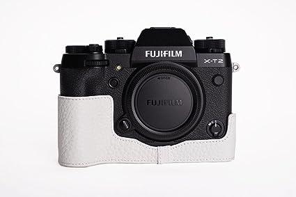 Caso TP hecha a mano de cuero genuino bolso de la cámara real La ...