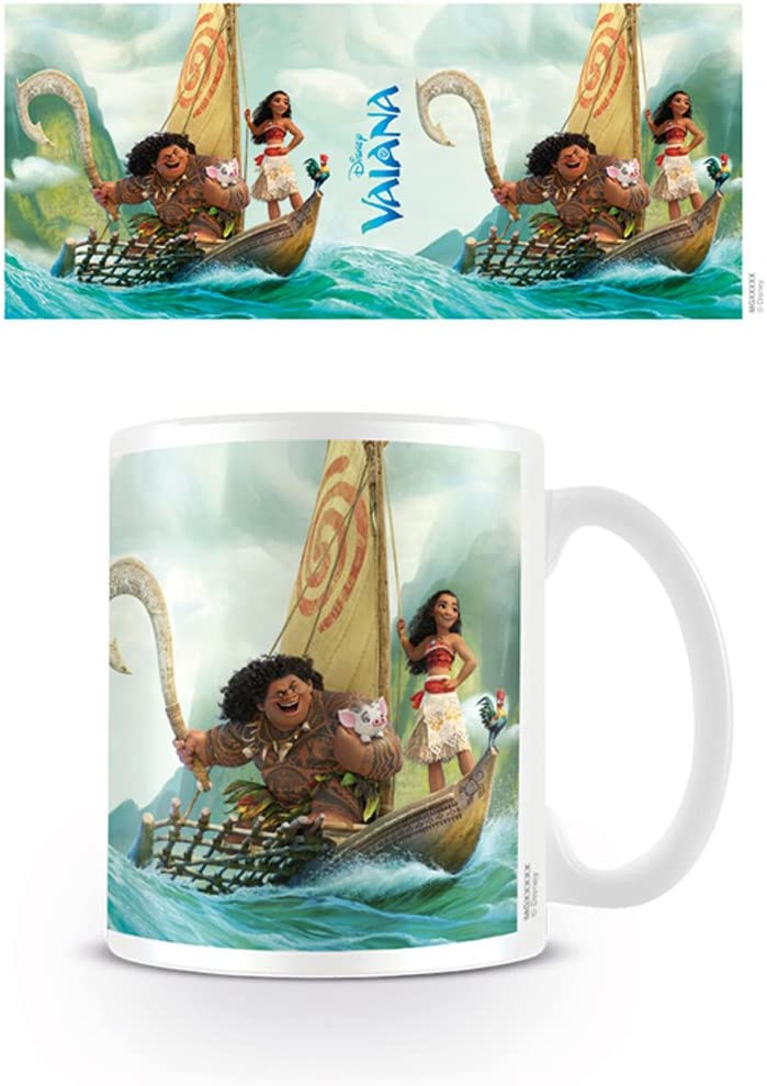 Maui Disney Keramik Tasse Kaffeebecher Größe Ø8,5 H9,5cm Vaiana
