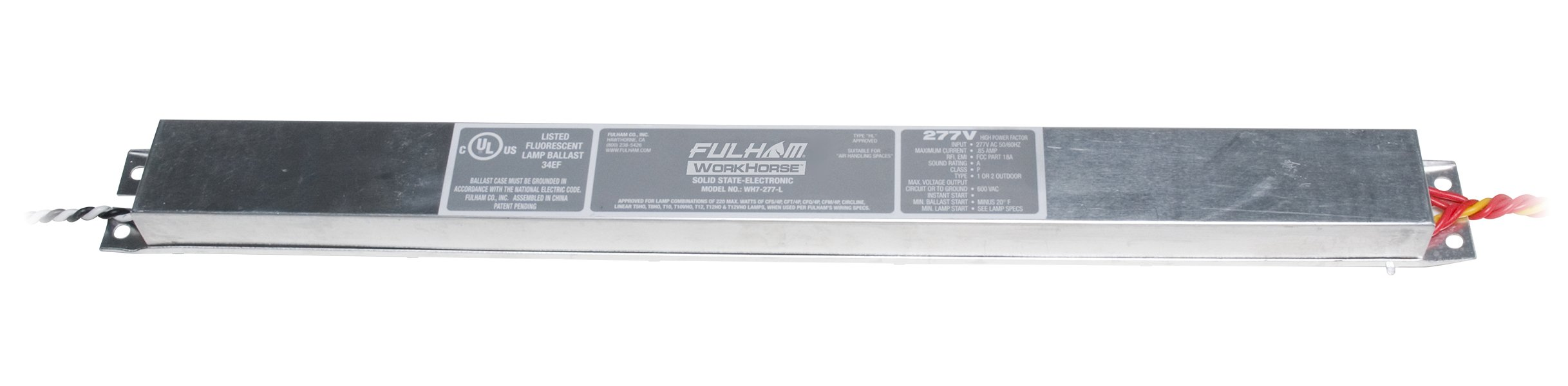 Fulham WH7-277-L Workhorse Adaptable Ballast