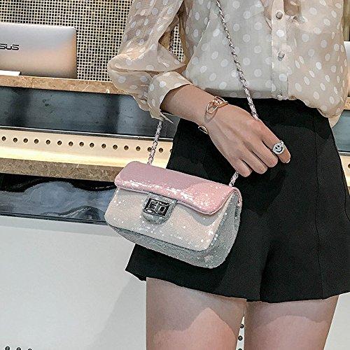 Loisirs Messenger Sacs Sequin Simple Petit Épaule Madame Été FangYOU1314 Main À Parfum Chaîne H4UnAT4