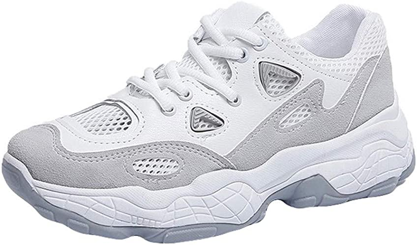 HLIYY Femme Baskets Mode Chaussures Sport Course Sneakers