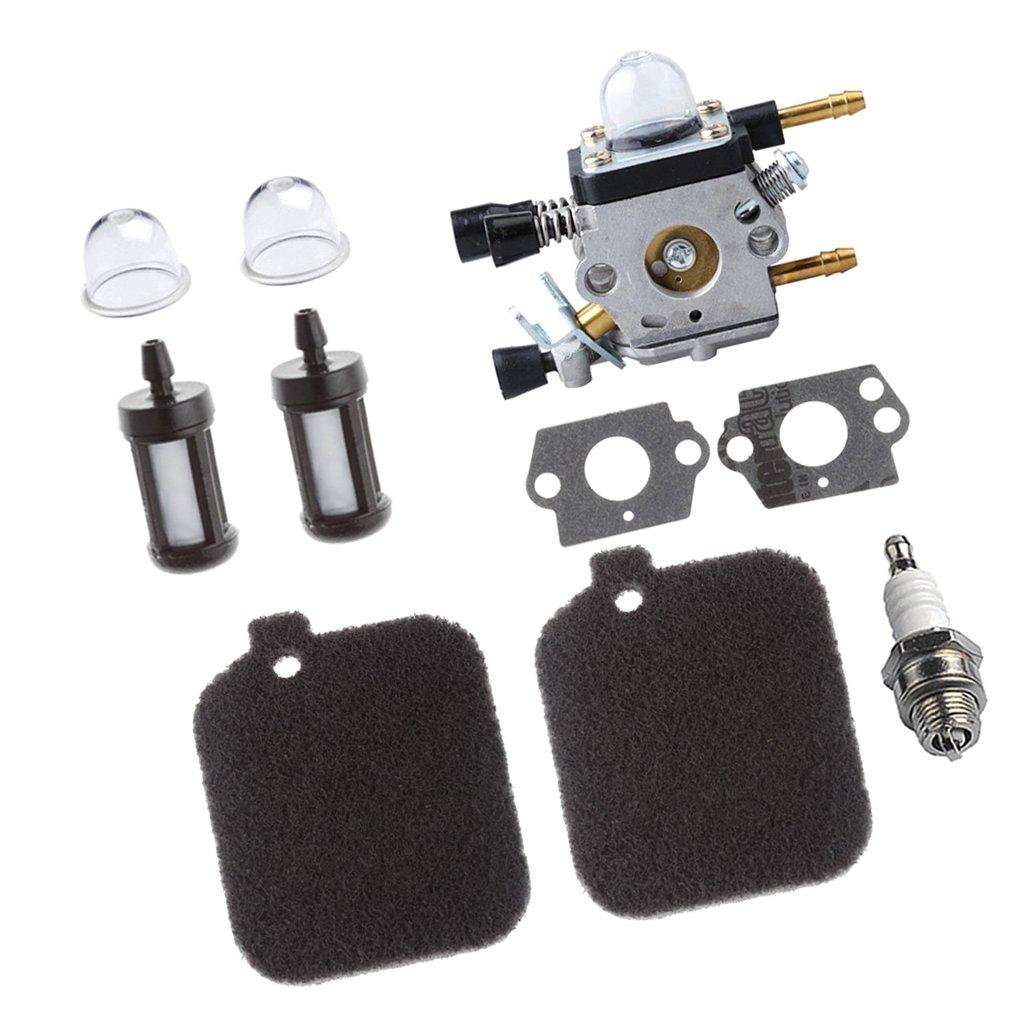 Sharplace Carburateur Ampoule damorcage Pi/èces de remplacement Pour Stihl Bg45 Bg55 Bg65 Bg85 Sh55 Sh85