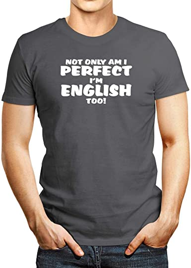 Idakoos Not Only Am I, Im English, Too! Camiseta: Amazon.es ...