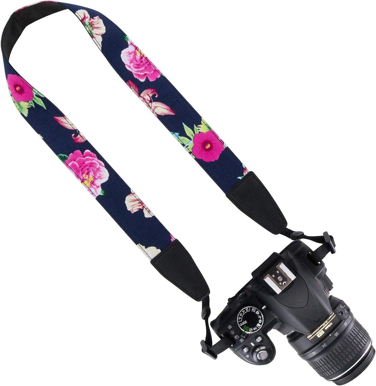 PassLanry Universal Camera Neck Shoulder Strap Belt Fashion Neck Belt for DSLR//SLR//DC//Instant Camera//Women//Men