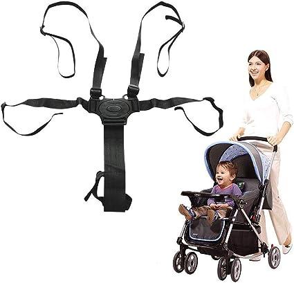 Baby stroller Harnais sécurité ceinture 5 points ceinture harnais pour Poussette Chaise Haute