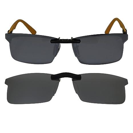 e47e7ece102 Custom Polarized Clip On Sunglasses for Ray-Ban RB8411 (RX8411) 54 ...